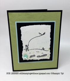 Handmade card using the Happy Home Stamp Set from Stampin' Up!