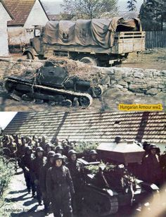 Ansaldo Hungarian in service. World War Ii, Wwii, Tanks, City Photo, Army, Italy, History, Military Photos, Hungary