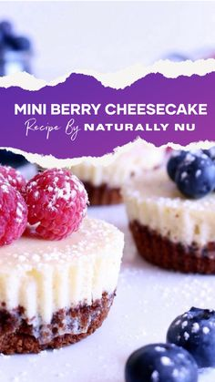 Now, you don't have to make that choice! Enjoy cheesecake designed for one. Coconut Cheesecake, Berry Cheesecake, Gluten Free Desserts, Gluten Free Recipes, Dessert Recipes, Graham Cracker Crumbs, Graham Crackers, Gluten Free Crust, New York Style Cheesecake