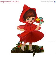 SAVE NOW 2pcs HONEYCOMB Tissue Girls by cOveTableCuriOsitiEs, $3.97