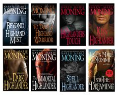 The Highlander Series by Karen Moning