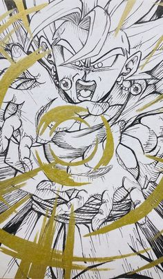 Dragon Ball Z, Gogeta And Vegito, Graffiti Characters, Sword Art Online, Aesthetic Anime, Character Art, Anime Art, Drawings, Artwork