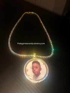 Add any photo to this necklace