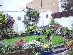 fotos de jardines con flores2
