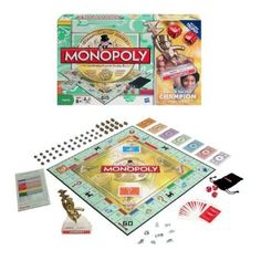 Monopoly Family Championship --- http://www.amazon.com/Monopoly-622-Family-Championship/dp/B0028Y4QX8/?tag=kelansmobilem-20