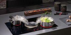 Un extractor integrado en la cocina: Una alternativa a la campana tradicional