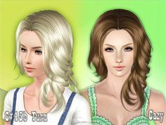 Cazy's Turn Hairstyle Female