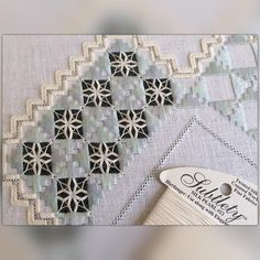 Love the laciness of this filling stitch / Нравится как этот узор похож на кружево #hardanger #hardangersøm #whitework #handembroidery #ручнаявышивка #хардангер #ricamo #nakış #ricamoamano #elnakışı #antepişi