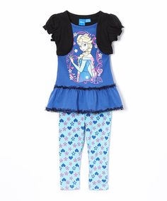 Look at this Blue Frozen Elsa Tunic