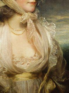 ohn Hoppner. Detail from Honorable Lucy Byng , late 18th Century.
