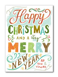 Happy Christmas Card | Beau Ideal
