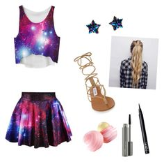 """""""Galaxy"""" by e12345l on Polyvore featuring Accessorize, Steve Madden, NARS Cosmetics, MAC Cosmetics and Eos"""