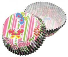 Formičky na muffiny a cupcakes 50ks č. Muf-63 motýlci