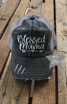 USA  Classy But I Cuss A Little Glitter Bling Hats Made In USA Trucker Hats Caps
