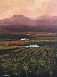 Mauro Chiarla - Cape Winelands at Sunset