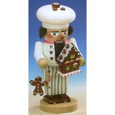 PINNACLE PEAK SIGNED Steinbach Gingerbread Baker German Christmas Nutcracker at Sears.com