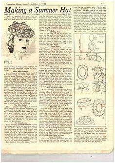 Deby Clark - Random Acts of Vintage Australiana Home Journal Primavera 1942