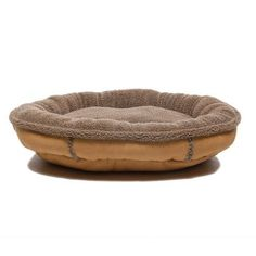 Everest Pet 0145Tan Faux Suede Oblong Comfy Cup Dog Bed in Tan Size Medium  36 x 33 *** Be sure to check out this awesome product.