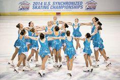 ~DuPage Dazzlers, 2014 U.S. Synchronized Skating champs