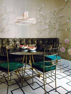 Fuera normas... Una casa decorada con refinado eclecticismo
