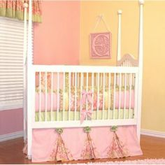 Ainsley Crib Bedding by Little Bunny Blue