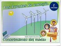"""""""Las fuentes de energía"""" (Ciencias Naturales de Primaria) Wind Turbine, Diy And Crafts, Videos, Science, Education, Teaching Resources, Learning, Consciousness, Science Area"""