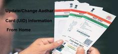 Change Aadhar Card Details  #aadharcorrection, #aadhardataupdation, #uidchanges