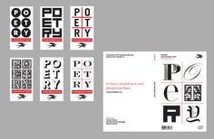 It's Nice That | Michael Bierut designs new brand identity for the Poetry Foundation