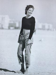 Christy Turlington by Peter Lindberg