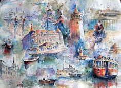 Ahmet ÖĞRETEN - Sanatçı Detayı - Turkish Paintings
