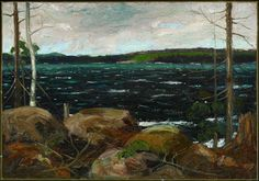 Northern Lake, Winter 1913 Tom Thomson Canadian, 1877 - 1917 Oil on canvas Overall: x cm Gift of the Government of the Province of Ontario, 1972 © 2012 Art Gallery of Ontario Canadian Painters, Canadian Artists, Emily Carr Paintings, Group Of Seven Paintings, Tom Thomson Paintings, Art Gallery Of Ontario, Canada Images, Large Art, Plein Air