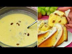Kefírový dort, který připravíte za 5 minut!   Chutný TV - YouTube Kefir, Sweet Bread, Soul Food, Cheeseburger Chowder, Food And Drink, Fruit, Ethnic Recipes, Youtube, Easy Trifle Recipe
