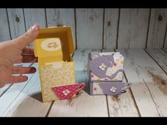 A Nice Cuppa Tea bag box. Easy and fast project.