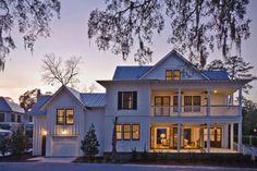 Exterior at Dusk - traditional - Exterior - Charleston - Wayne Windham Architect, P.A.