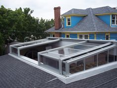 Roll A Coveru0027s Retractable Skylight Enclosure At Blue Moon In Rehoboth  Beach, ...