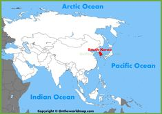 Jamaica location on the world map maps pinterest jamaica south korea location on the asia map with world gumiabroncs Gallery