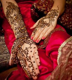 Wedding Henna Mehndi Designs