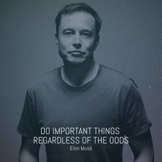 Episode 21 - Elon Musk & Jeff Bezos — Startup business advice and innovation tips: Moonshots Podcast Motivational Thoughts, Motivational Quotes, Inspirational Quotes, Robert Kiyosaki, Elon Musk Quotes, Make Money Online, How To Make Money, Elon Musk Tesla, Statement Tees