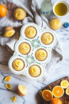 YUM muffins for spring time.