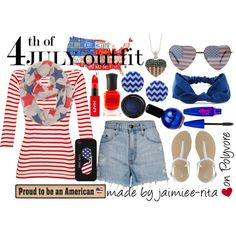 """~4th of July Outfit ~"" by jaimiee-rita on Polyvore"