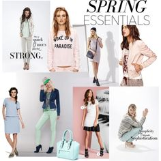 spring essentials by jj-van-gemert on Polyvore