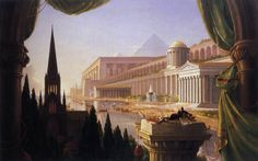 The Architect's Dream 1840 Oil on canvas, 136 x 214 cm Toledo Museum of Art, Toledo, Ohio