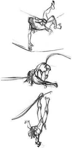 Tarzan swinging sequence (Glen Keane).