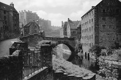 General view of Dean showing West Mill, Dean School, Old Tolbooth, 17 Bell's Brae and Water of Leith General