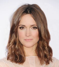 Light brown hair with waves