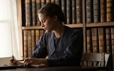 Alicia Vikander as Vera Brittain in Testament of Youth. Beautiful movie and amazing perfomance!