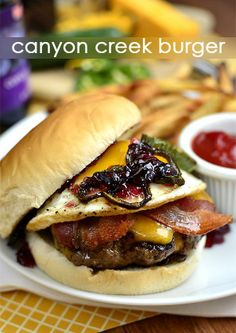 Canyon Creek Burger. A copycat recipe from Ted's Montana Grill!.