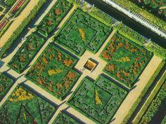 The Gardens of the Château de Villandry
