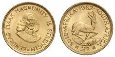 South Africa, 2 margin 1962, bank fresh    Dealer  Auction house Ulrich Felzmann    Auction  Minimum Bid:  250.00EUR