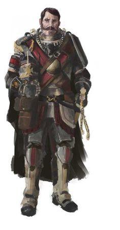 Steampunk Officer by TheRollingMan.deviantart.com on @deviantART